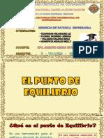 Exposicion de Augurio Adjuntado Lunes