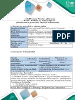 Guía de Actividades y Rúbrica Cualitativa de Evaluacion - Fase 2 - Plan y Acción Solidaria
