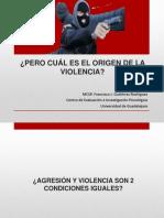 Agresion vs Violencia