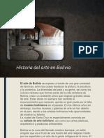 Arte en Bolivia