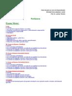 Parkinson - Escala Atividades Schwab and England