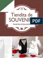 Catalogo 2017 _tiendita de Souvenirs