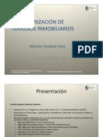 Método de Valor Residual - Gutiérrez Cristian