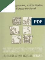 Cofradías, Gremios y Solidaridades en La Europa Medieval