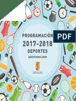 Programacion Deportes 2017-Web