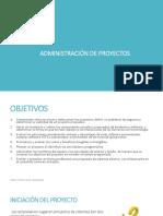 Capítulo 3 Administración de Proyectos