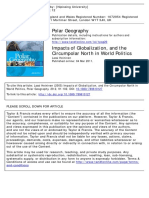 Impacts of Globalization and the Circumpolar North