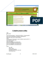 13.Complete Project Coding