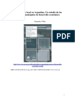 VILLAR Alejandro- Politicas Municipales Para El Desarrollo Economico Social