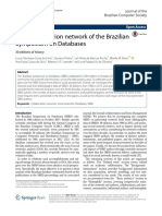 The collaboration network of the Brazilian Symposium on Databases