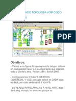 Configurando Topología Voip Cisc1