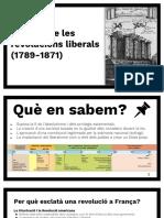 2. L'Època de Les Revolucions Liberals (1789-1871)