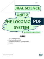 Student's booklet - THE LOCOMOTOR SYSTEM