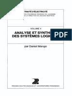 Analyse Et Synthèse Des Systèmes Logiques
