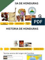 2017 Historia de Honduras