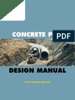Manual de Diseño de Tuberias de Concreto