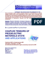 Coupled Tensors of Piezoelectric Materials State