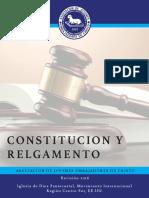 AJEC Región Centro Sur   Constitución y Reglamento