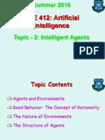 Topic - 2 (Intelligent Agents).ppt