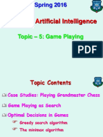 Topic - 5 (Game Playing).ppt