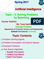 Topic - 3 (Solving Problems by Searching) [31.01.17].ppt