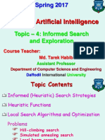 Topic - 4 (Informed Search and Exploration) [14.02.17].ppt