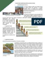 Antiguas Civilizaciones Aztecas-Mayas e Incas