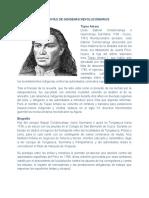 Biografìas indigenas revolucionarios