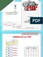 Arreglos Asociativos en Php