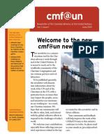 Cmf@Un Newsletter - Vol.1 Issue1 - June2013 - English