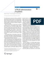 The Dark Sides ofFuid Administration inthe Critically Ill Patient