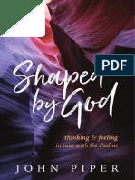 SAMPLE - SHAPED by GOD.john Piper.desiring God.cruciform Press
