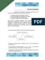 Función Cuadrática - Teoría