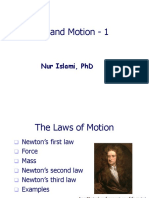 5. Force and Motion -1