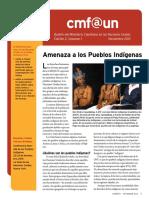 Cmf@Un Newsletter - Vol. 1 Issue 2 - November2013 - Spanish