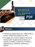 Deporte y Musica - Musica Clasica