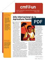 Cmf@Un Newsletter - Vol. 2 Issue 1 - March2014 - Spanish