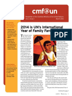 Cmf@Un Newsletter - Vol. 2 Issue 1 - March2014 - English