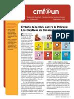 Cmf@Un Newsletter - Vol. 2 Issue 2 - September2014 - Spanish