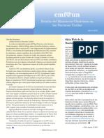 Cmf@Un Newsletter - Vol. 3 Issue 1 - April 2016 - Spanish