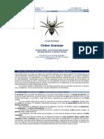 Orden Araneae