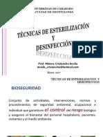 Tecnicas de Desinfeccion y Esterilizacion