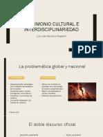 Patrimonio cultural e interdisciplinariedad en los estudios del paisaje