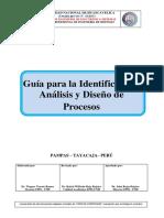 Guia Para Identificacion, Analisis y Diseño de Procesos