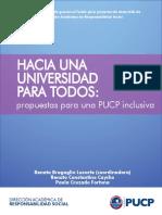 PUCP - Diagnóstico Personas Con Discapacidad