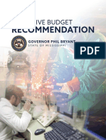Gov. Phil Bryant's FY2019 Executive Budget Recommendation