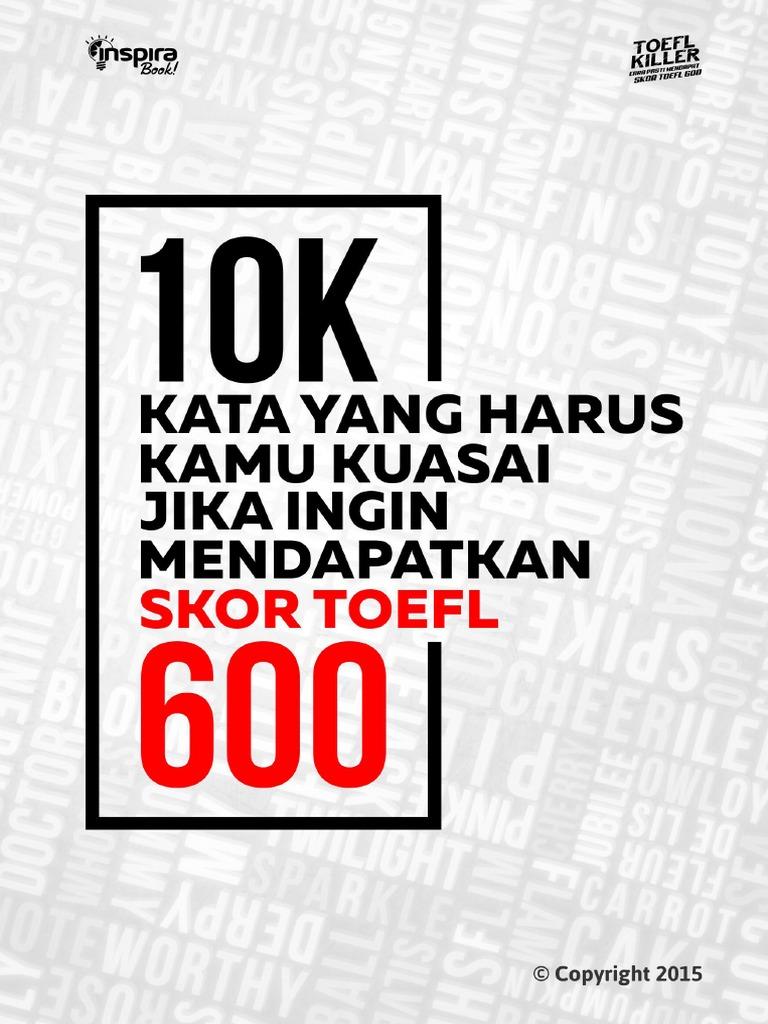 10000 Kata Paling Umum Dalam Bahasa Inggrispdf Internet