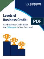 Three Levels of Biz Credit