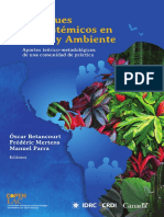 Enfoques Ecosistemicos en Salud y Ambiente