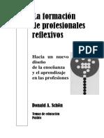 Schön - La Formación de Profesionales Reflexivos